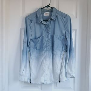 Anthropologie Holding Horses 2 Ombre Button Down